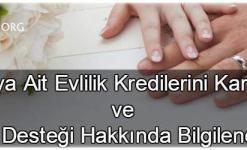 Evlilik Kredisi Veren Bankalar Başvurusu (8 BANKA ve DEVLET DESTEĞİ)