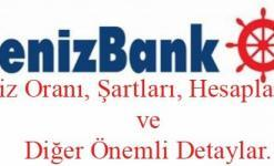 Denizbank Konut Kredisi 2018 (Mortgage Faiz Oranı, Hesaplaması ve Vadeler)