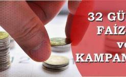 32 Günlük En Yüksek Faiz Veren Banka (Mevduat Hesaplama)