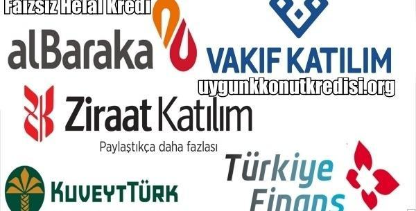 Faizsiz (Helal) Kredi Sağlayan Bankalar