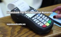 Finansbank Pos Destek Telefon Numarası (0850 222 1 900)