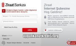 Ziraat Bankası İnternet Bankacılığı Şifresi Alma