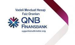 QNB Finansbank Vadeli Mevduat Hesap Faiz Oranları 2019