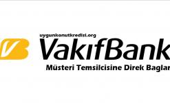 Vakıfbank Müşteri Hizmetlerine Direk Bağlanma 2020 (HIZLI)