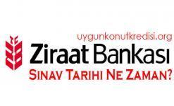Ziraat Bankası Sınav Tarihi Ne Zaman? 2020