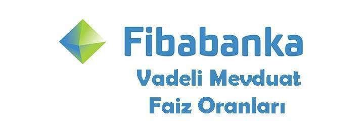Fibabanka Vadeli Mevduat Hesabı Faiz Oranları 2019
