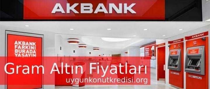 Akbank Gram Altın Fiyatları 2019 (Altın Hesabı Açma)