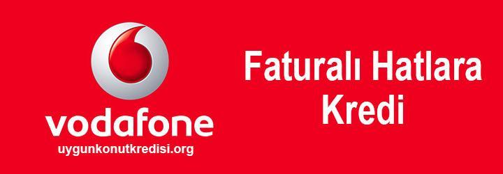 Vodafone Faturalı Hatta Kredi Nasıl Alınır ? (Garanti Kredi)