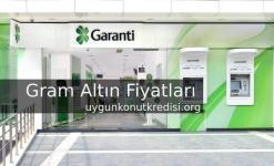 Garanti Bankası Gram Altın Fiyatları 2019 (Altın Hesabı Açma)