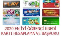 Öğrenci Kredi Kartı Başvurusu, Şartlar, Limit Hesaplama (Güncel)