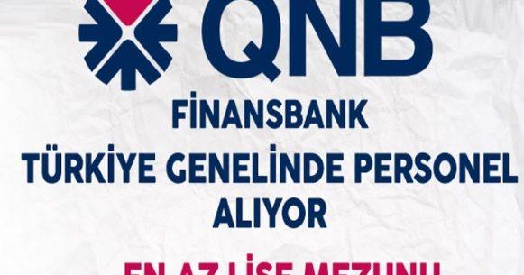 QNB Finansbank Personel Alımı (Finansbank İş İlanları)