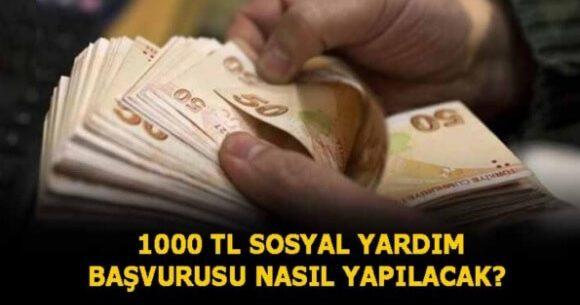 İhtiyaç Sahiplerine 1.000 Lira Ödeme Yapılacak (Kimler Başvurabilir ?)