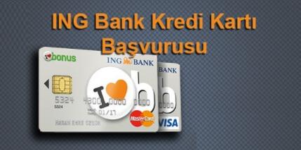ING Bank Kredi Kartı Başvurusu, Kampanyaları
