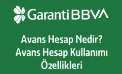 Garanti Bankası Avans Hesap Başvuru, Faiz Oranı ve Hesaplama
