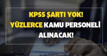 KPSS Şartı Olmadan Özel İdare Müdürlüğü Memur Alımı Yapıyor