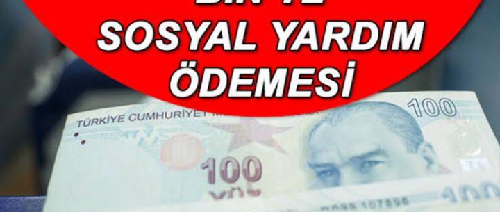 İhtiyacı Olanlara 1000 Lira Yardım Yapılacak