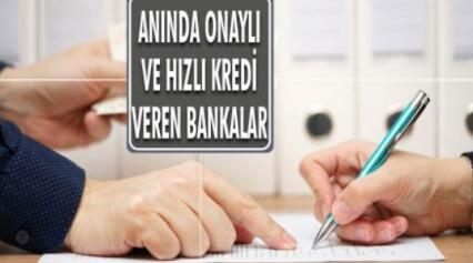 4 Bankadan Anında Onaylı 3.500 Lira Kredi