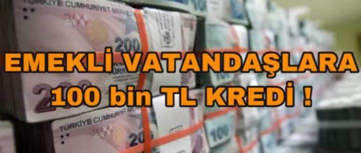 Denizbank Emekli Kredisi Faiz Oranı ve Hesaplama (100 Bin TL)