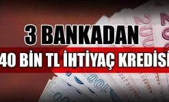 SMS ile 40.000 TL Kredi Veren Bankalar (TEB, Akbank, Denizbank)