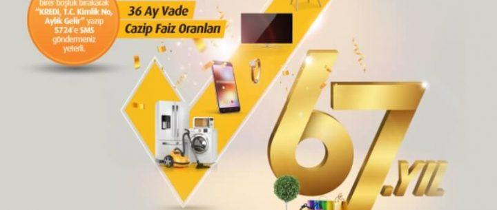 Vakıfbank Kuruluş Yıl Dönümü Kredisi Kampanyası