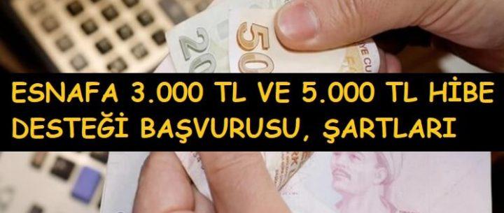 5.000 TL Hibe Başvurusu Başladı