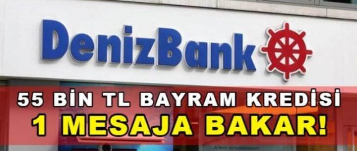 Denizbank Bayram Kredisi Başvuru ve Hesaplama